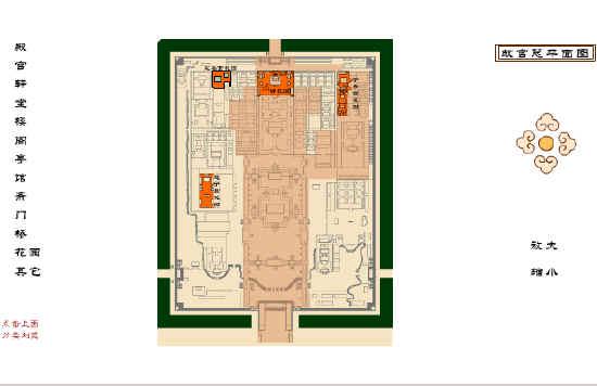 《故宫博物院》故宫平面图