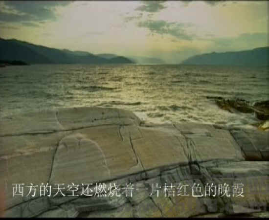 《海滨仲夏夜》视频朗读人黏视频狗图片