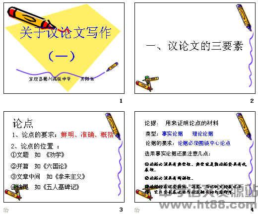 高中作文指导关于议论文写作ppt包括高中英语哪些基本知识图片