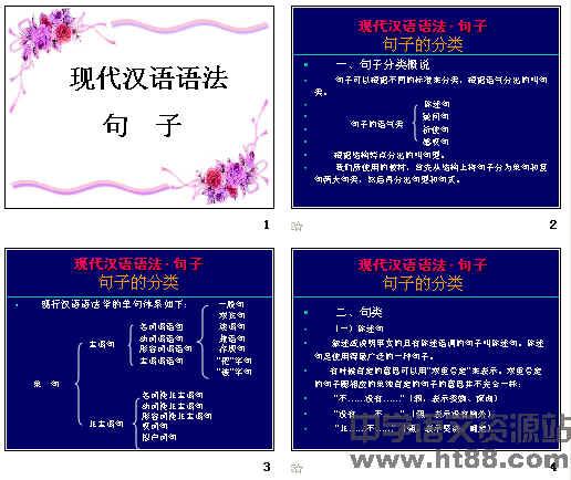 高考复习现代汉语语法·句子ppt