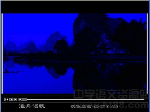 渔舟唱晚古筝曲,配有对该曲的解说.
