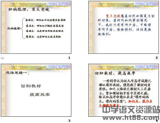 高考复习语文答题公式ppt