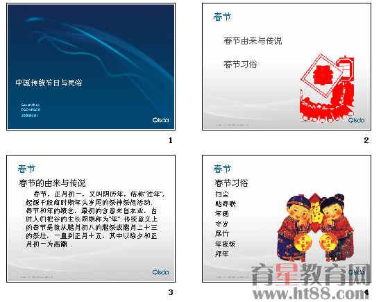 中国传统节日与民俗ppt