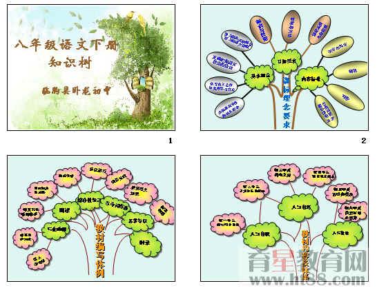 八年级语文下册知识树ppt